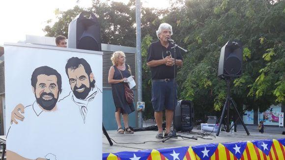 Els santcugatencs no obliden Cuixart i Sànchez en els 10 mesos del seu empresonament