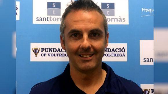 Beto Borregán, nou entrenador del femení del Patí Hoquei Club Sant Cugat