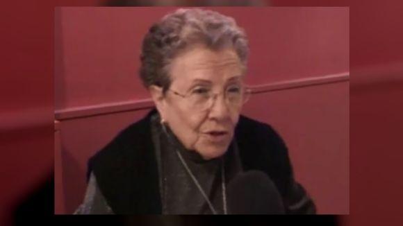 Mor la fundadora del Grup Esperantista de Sant Cugat, Trinitat Garcia