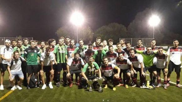 El Sant Cugat FC B guanya la 2a edició del Torneig del Centenari Junior Mira-sol Sant Cugat
