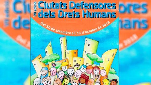 Cartell de la proposta d'enguany / Foto: Ciutats Defensores dels Drets Humans