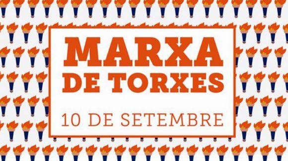 La 4a Marxa de Torxes torna aquest dilluns per obrir els actes de l'Onze de Setembre a Sant Cugat