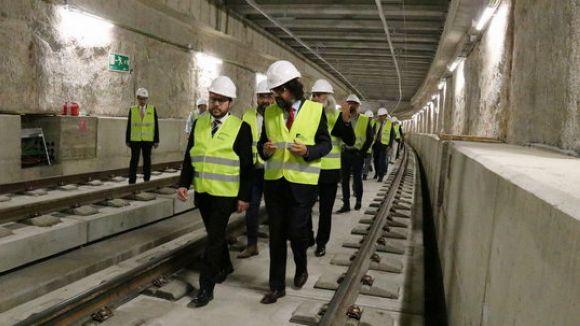 La línia S2 de FGC a Sabadell tornarà a funcionar dilluns vinent, un dia abans del previst