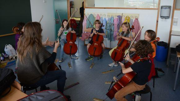 La música, una de les activitats preferides per la canalla / Foto: Localpres