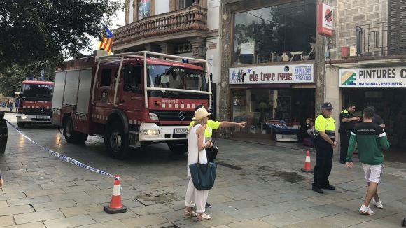 Es declara un incendi al restaurant La Plaça