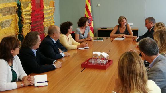 SCE presenta a l'alcaldessa el projecte de crear un fòrum internacional sobre innovació a la ciutat