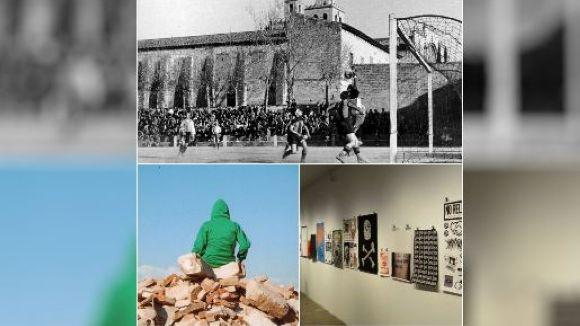 La història del Sant Cugat FC, una mostra fotogràfica i la Biennal d'Art, les exposicions destacades