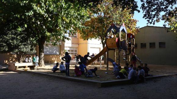 Pati de l'escola Pins del Vallès / Foto: Premsa Ajuntament