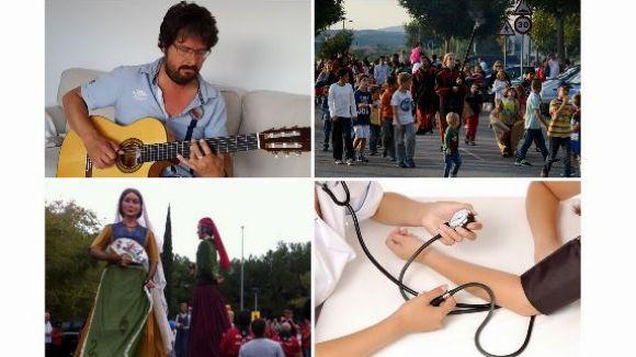 Festes Majors, música a l'Ateneu i una xerrada per la salut, a l'agenda d'avui