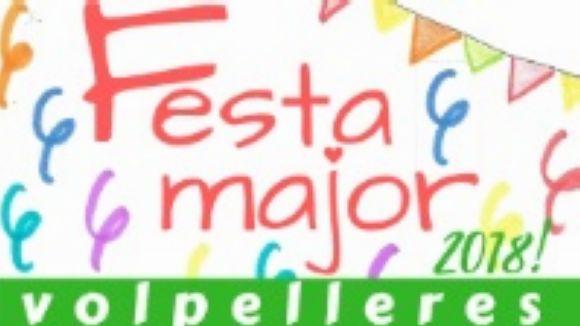 Volpelleres enceta avui tres dies de Festa Major carregats d'activitats familiars