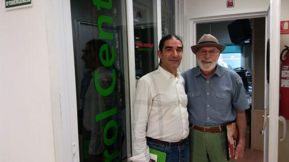 Pep Tugues visita el 'Molta Comèdia' per presentar la nova temporada del Teatre-Auditori
