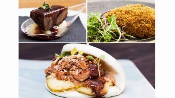 Les tapes dels restaurants La Plaça, Les Voltes i el Sabàtic / Foto: Gastronosfera