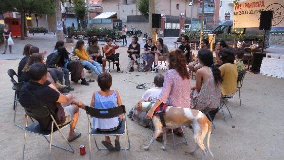 La Xesca celebra dos anys a Sant Cugat satifets per la feina feta amb les entitats del barri