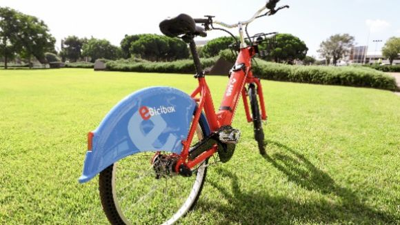 Així són les bicicletes elèctriques del servei E-Bicibox / Foto: AMB