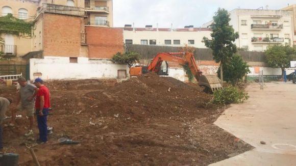Les obres del pati del Santa Isabel s'endarrereixen i s'allargaran fins al desembre