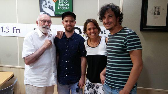 Eduard Jener, Dani 'Pulmón' Lleonart, Mayte Calvo i Roger Casadellà