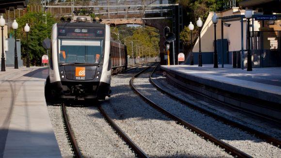 FGC estrena la renovada estació de Baixador de Vallvidrera
