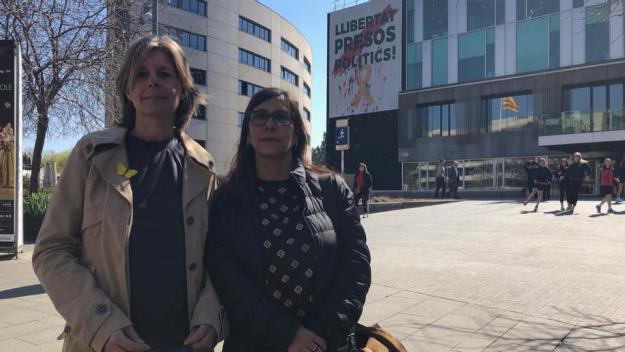 L'Ajuntament presenta un recurs a la Junta Electoral per 'guanyar temps' per retirar la pancarta