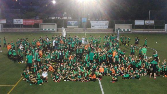 El Mira-sol fa gala dels seus 27 equips i 400 jugadors en una presentació històrica per al club