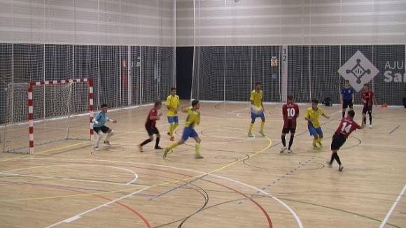 El Futbol Sala Sant Cugat visita la pista del Moncada per buscar la segona victòria de la lliga