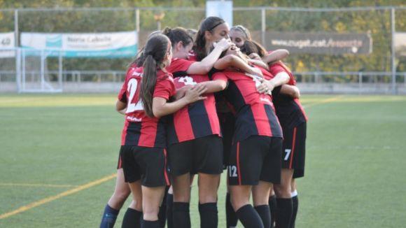 El femení del SantCu s'endú els tres punts gràcies a un gol al 89 de Marta Feliu