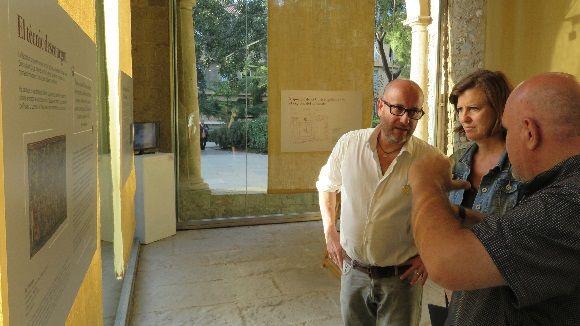 La regidora de Cultura, Silvia Solanellas, ha visitat la mostra