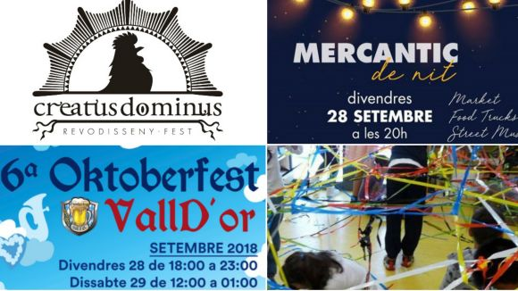 La 5a edició del Creatus Dominus i l'Oktoberfest marquen les propostes d'avui a Sant Cugat