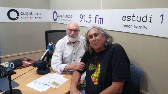 Albert Puig visita el 'Molta Comèdia' per fer la prèvia del Petits Camaleons