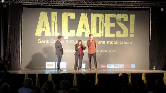 Moment de l'estrena d''Alçades'