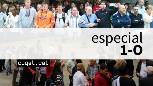 Cugat.cat recollirà opinions sobre què va passar l'1 d'octubre