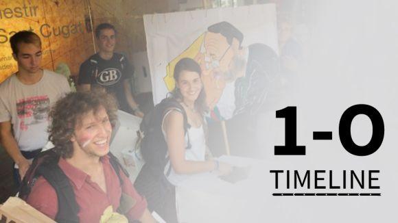 Cugat.cat recorda els moments previs al referèndum de l'1 d'octubre