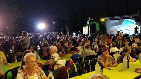L'aplec ha tingut lloc al parc de Ramon Barnils