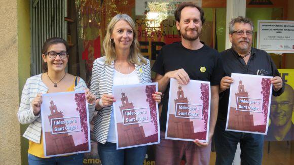 ERC ha presentat la campanya sota el lema 'Idees per a Sant Cugat'