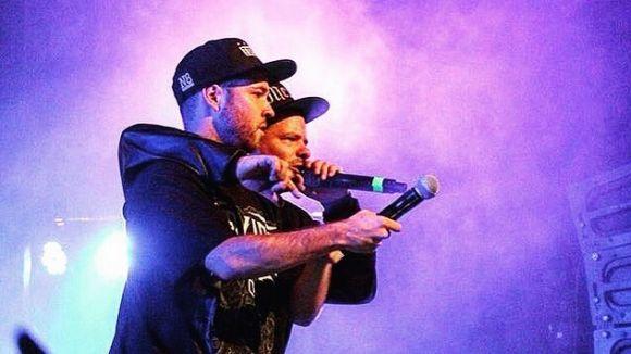Pulmón Beatbox i Rapsusklei en un concert / Foto: Facebook Pulmón Beatbox