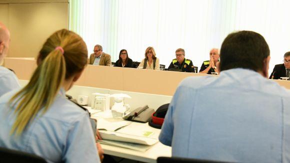 La Junta de Seguretat Local referma el compromís en la lluita contra els robatoris amb força a domicilis