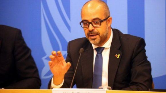 Miquel Buch finalment no assisteix a la reunió pel ple del Parlament / Foto: ACN