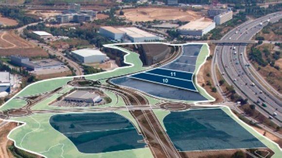 Fanuc situarà la seu en aquestes dues parcel·les / Foto: Incasòl