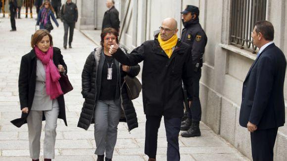 El Suprem rebutja de nou la petició de llibertat de Romeva i la resta de 'presos polítics'