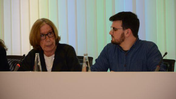 Els regidors d'ICV-EUiA Roser Casamitjana i Ramon Gutiérrez / Foto: Localpres