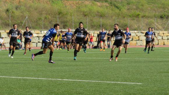 Un Rugby Sant Cugat en gran estat de forma guanya L'Hospitalet i recupera la tercera posició