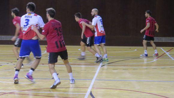 Imatge de l'últim partit de l'Handbol Sant Cugat contra el Sant Joan Despí