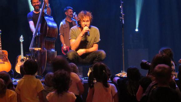 Ramon Mirabet, molt proper amb el seu públic