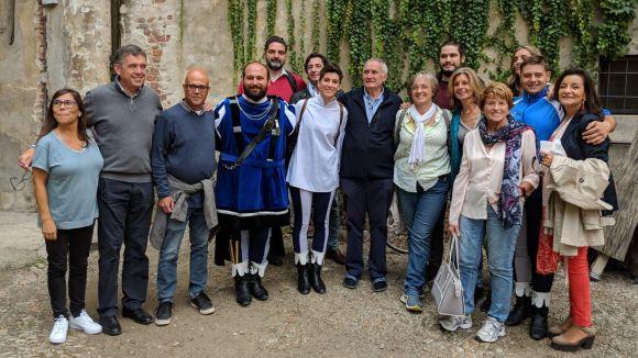 La visita ha coincidit amb la fira del 'Tartufo Bianco' / Foto: Ajuntament