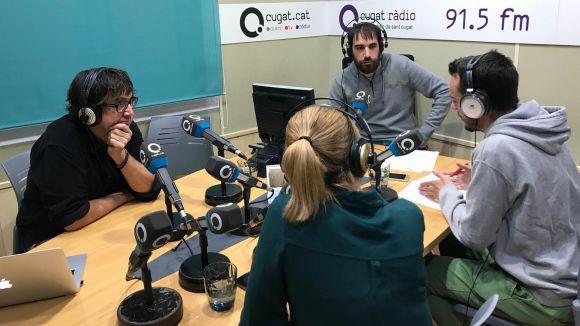 Raúl Martínez, Marina Romero i Jordi Pascual han visitat la tertúlia
