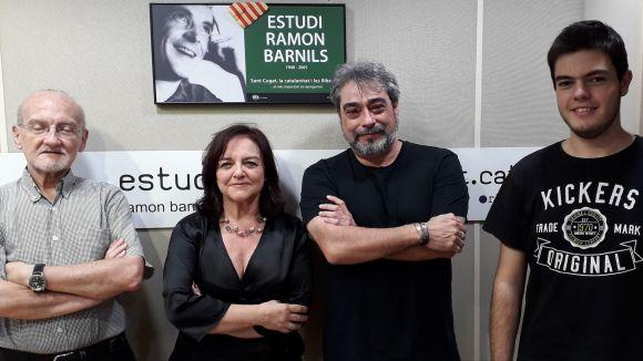 L'escriptor Pedro de Paz visita el 'Lletres i Música' per explicar el seu univers literari
