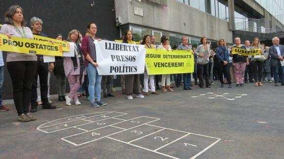 Fortuny autoritza els treballadors municipals anar a la feina el 12 d'octubre
