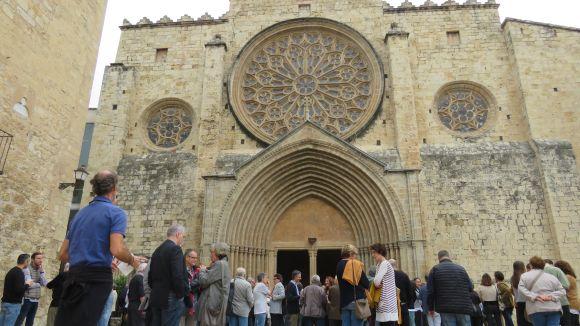 Sant Cugat diu adéu al dibuixant del Claustre