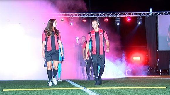 El Sant Cugat FC més solidari posa de relleu els valors del club en una presentació històrica