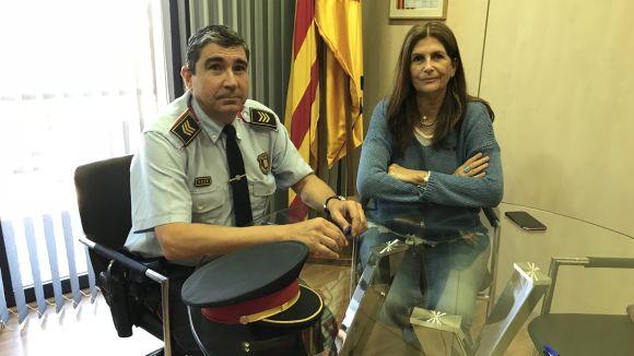 L'EMD i els Mossos, compromesos per combatre els robatoris a Valldoreix