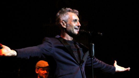 Sergio Dalma presenta 'Via Dalma III' aquest vespre al Teatre-Auditori